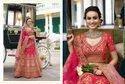 Shreeji Nx Pink Bridal Lehengas