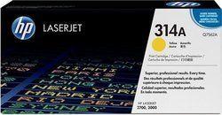 HP Q7562A 314A Yellow Toner Cartridge
