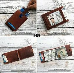 RFID Protected Leather Money Clipper