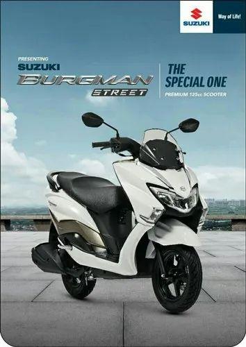Suzuki Burgman Street 125 Rs 71000 Unit Asamant Suzuki Id