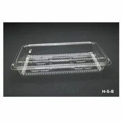 H-5-B Plastic Container