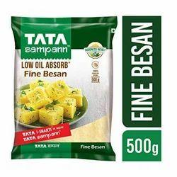 Tata Sampann Low Oil Absorb Fine Besan, Organic