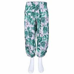 Pleated Pants, Palazzo Pants Cotton Girls Pant