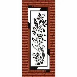 3D Vine Printed Door Skin Paper