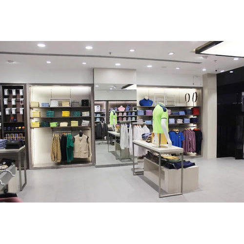 Branded Garments Showroom Interiors Designing Service In Sector 3
