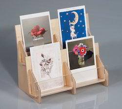 Acrylic Greeting Card Stand