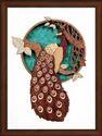Chakra Exports Peacock Wood Carving Handicraft