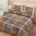 Ajrak Print Single Bed Sheet