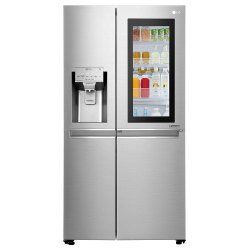 LG 668 L Frost Free Side-by-Side Insta View Door-in-Door Refrigerator