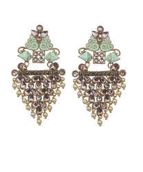 Contemporary Designer Drop Earrings