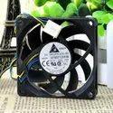 Delta Cooling Fan AFB0712HHB 0.45A 4 Needle Ball Fan Pwm 70x70x15mm 4 Wire