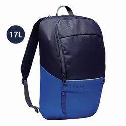 Kipsta Dark Blue and Indigo Blue 17L Classic Sports Backpack