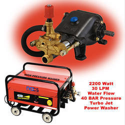 Portable High Flow Turbo Car Washer, Flow Rate: 30 Liter Per Minute