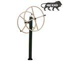 Mild Steel Outdoor Gym Arm Wheel Exercise Machine