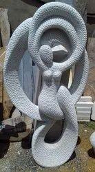 Handmade Marble Woman Sculpture