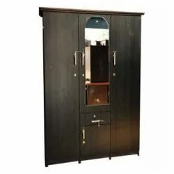 Hinged Mirror Wooden Almirah, For Home