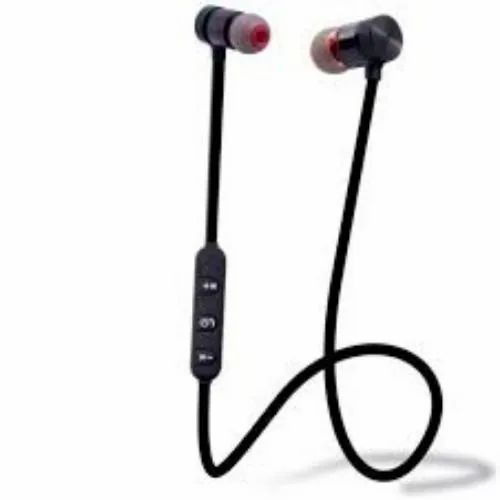 Fleejost Magnet Earphone Bluetooth Headset With Mic With All Android Mobiles Laptop Computer And Tab ब ल ट थ ह डस ट Ld Retail India Bhiwadi Id 20956467873