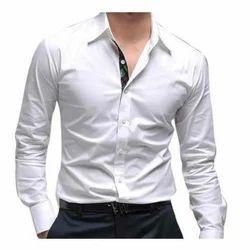 Men Cotton Formal Wear Shirts, Size: S-XXL