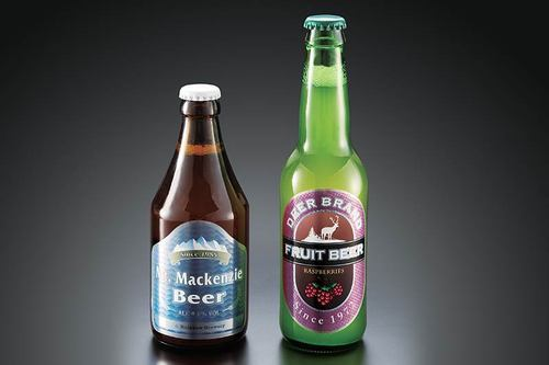 Coloured Bottle Labels