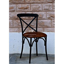 Cross-Back Cafe Chair