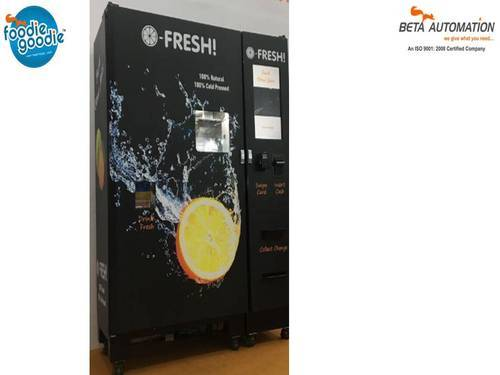 Smart Fruit Juice Vending Machine At Rs 475000 Piece Ganapathy
