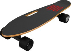 KD Fibre Skateboard with Handle