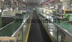 Plastic Moulding Parts Transfer Conveyor