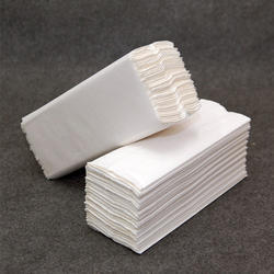 White C-Fold Towels