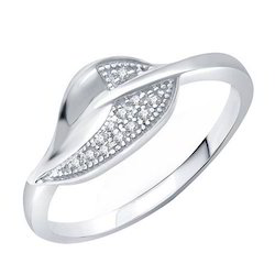 Girls Silver Finger Ring
