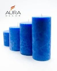 AuraDecor Sea Breeze Pillar Set