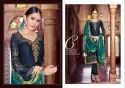 Shubharambh -Stin Georgette With Embroidery Work Designer Salwar Suits