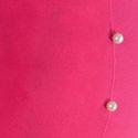 Pink Color Single White Moti Leggings