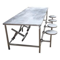 Stainless Steel 4 Seater Table