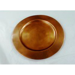Antique Finish Charger Plate