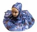 Printed Jersey Stretchable Scarf Hijab