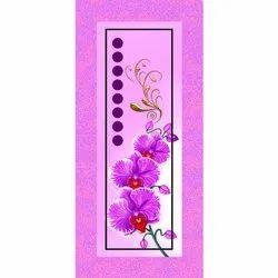 Gudhal Flower Printed Door Skin Paper