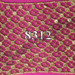 Polyester Sequins Lace Fabric