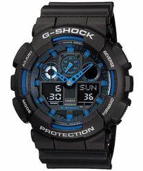 Casio G-Shock Analog-Digital Blue Dial Mens Watch