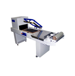 Semi Automatic Sealer and Tunnel Machine, Capacity: Variable