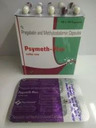 Pregablin 75mg  Methylcobalamin 750mg (Psymeth Plus)