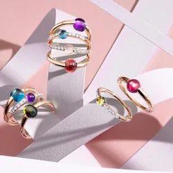 Pomelleto Partywear Hot Stylish Funky & Dashing Looks Gemstone Ring