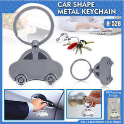 Silver Car shape Keychain