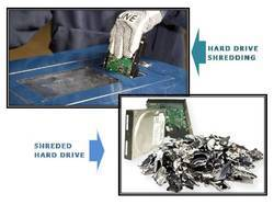 Hard Drive Shredding Cost