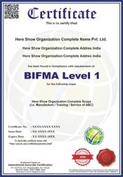 BIFMA Certification and Consultancy Service