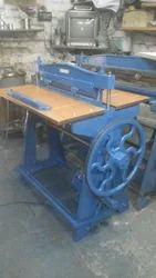 Power operated File creasing machine