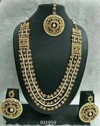 Female Fastion Kundan Necklace Sets