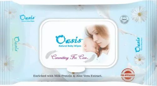 Oasis Natural Baby Wipes - 25 Pulls packs