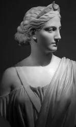 Handmade Marble Atalanta Statue