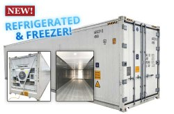 Refrigerated Container For Chemical Storage