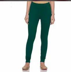 Cotton Plain Leggings for Woman